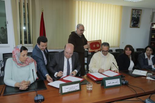 التوقيع على اتفاقية للشراكة والتعاون  بين مجلس جهة الرباط وأكاديمية التربية والتكوين