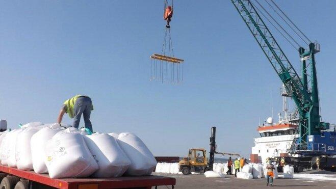 آلاف الأطنان من الأسمدة المغربية تصل غينيا.. ودفعة ثانية في الطريق