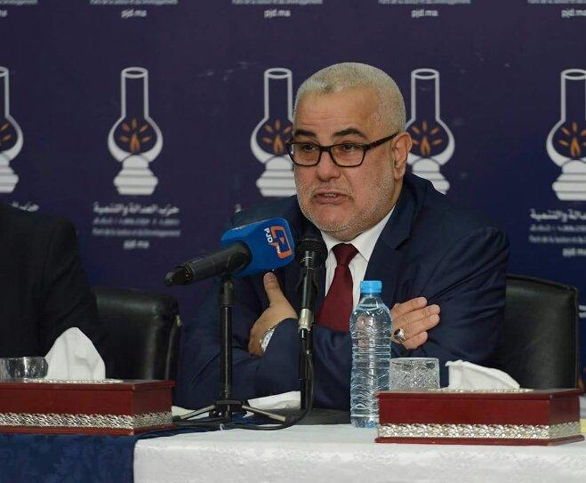 بن كيران يدعو برلمانيي البيجيدي إلى دعم العثماني