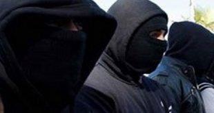 عصابة ملثمين بالعرائش