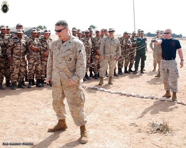 انطلاق مناورات الأسد الإفريقي 17 في المغرب