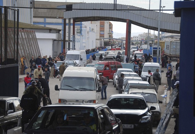 بعد سبتة.. مليلية تنوي أيضا منع دخول سيارات مغربية