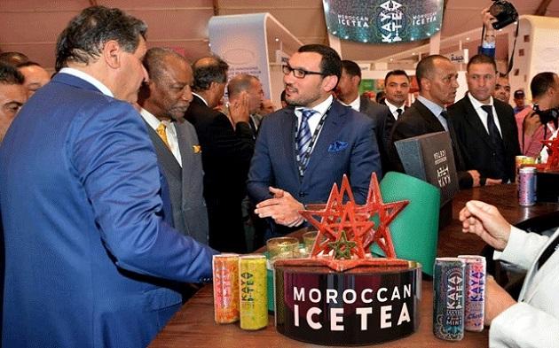 شاي مغربي مثلج يصل للعالمية