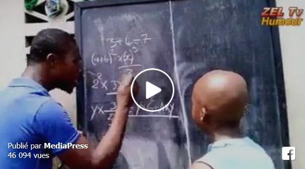 أحسن أستاذ في شرح الرياضيات... شرح ممتع لحل مسألة 3+4