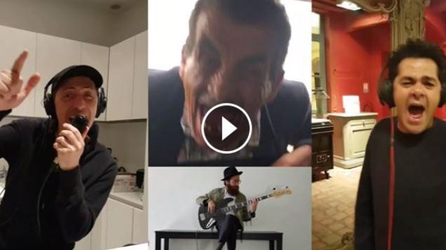 فيديو مضحك لجاد المالح و جمال دبوز ههههه