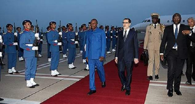 الرئيس الغيني يشارك في المناظرة التاسعة للفلاحة بمكناس