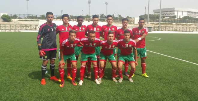 شبان المغرب ينتصرون على منتخب الجزائر