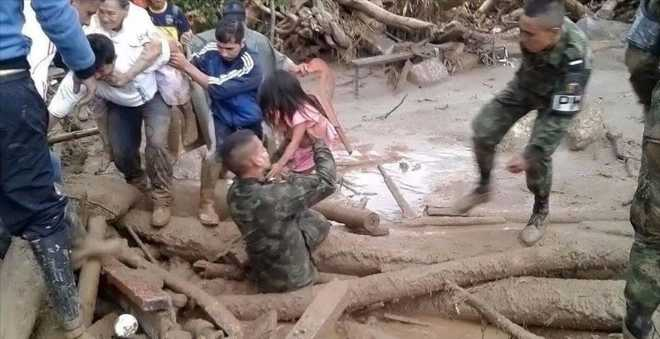 ارتفاع عدد ضحايا فيضان كولومبيا إلى 254 حالة وفاة