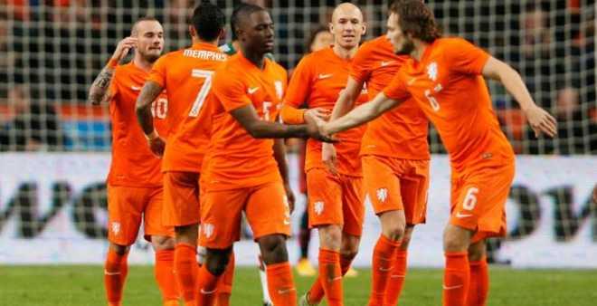 المنتخب الهولندي يجري تربصا بأكادير
