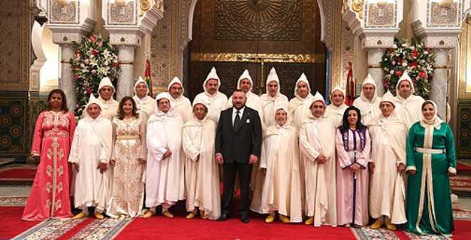 الملك محمد السادس يستقبل ويعين رئيس وأعضاء المجلس الأعلى للقضاء