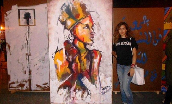 مريم بنطهيان شابة مبدعة ترسم للحب والحياة والإنسان