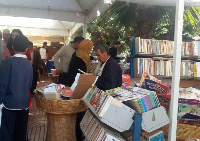 معرض الكتاب المستعمل يحط الرحال بالبيضاء ويكرم إفريقيا