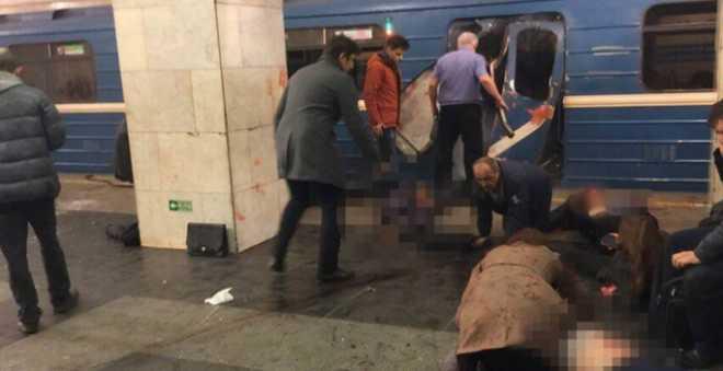 تطورات جديدة.. كاميرات المراقبة التقطت صور منفذ تفجير سان بطرسبرغ