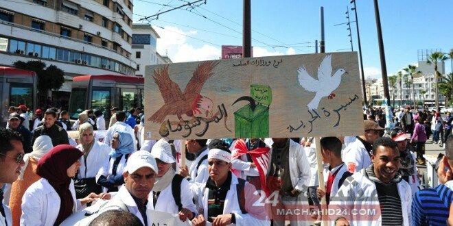 حالات حرجة تدفع الأساتذة المتدربين لتعليق إضرابهم عن الطعام