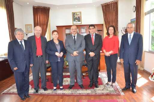 لقاء بين وزير الثقافة والاتصال واتحاد كتاب المغرب حول الوضع الثقافي بالبلاد