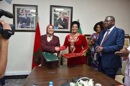 توطيد علاقات التعاون والشراكة بين المغرب وجمهورية الكونغو في المجالات الاجتماعية