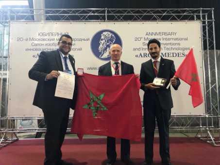 المغرب  يفوز بجائزة الابتكار التكنولوجي والميدالية الذهبية  في معرض الاختراعات  بموسكو
