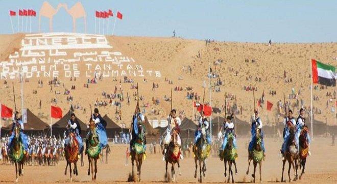 موسم طانطان يحتفل بعودة المغرب لحضن إفريقيا