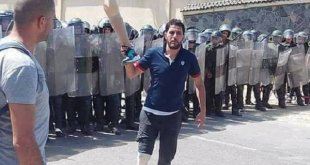 مسيرة متقاعدي ومصابي الجيش بالجزائر