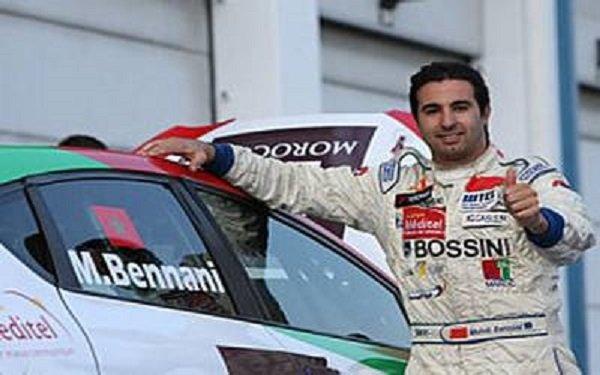 مهدي بناني يحقق أول فوز له هذا الموسم في بطولة العالم لسباق السيارات