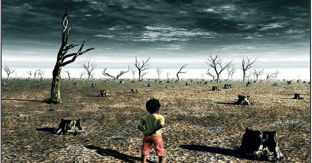 موضوع الطفل والتغيرات المناخية