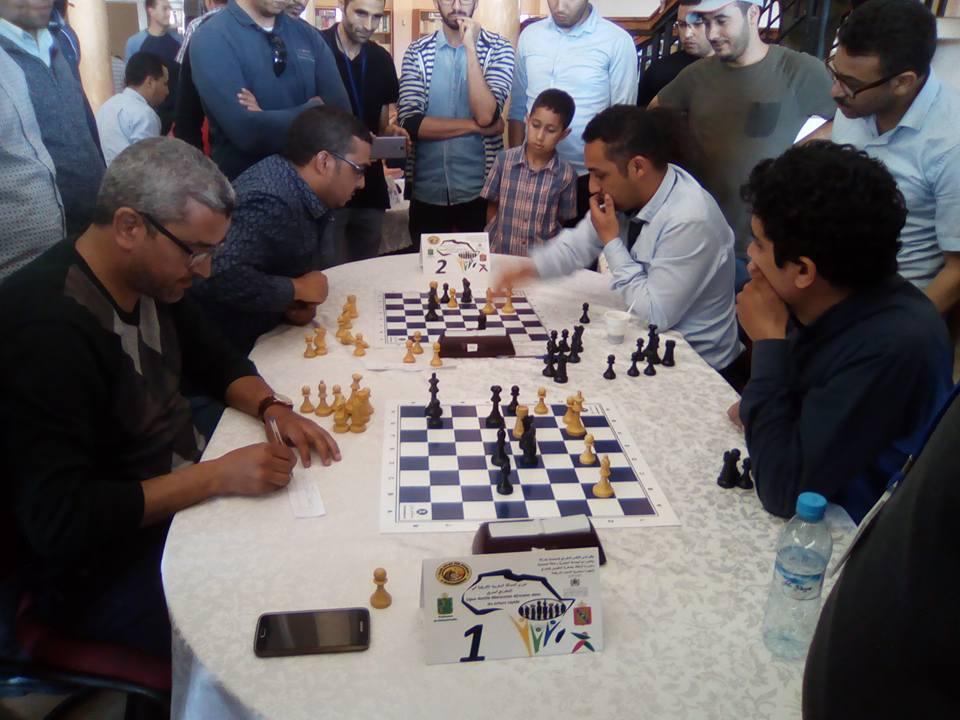 الشطرنج.. تألق البطل شفيق الإدريسي في دوري الصداقة المغربية الإفريقية