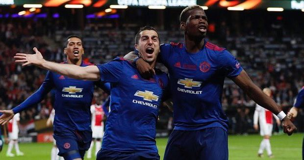 مانشستر يونايتد بطلا للدوري الأوروبي