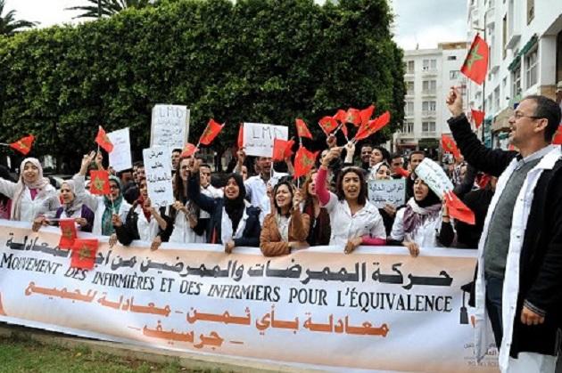 قبل رمضان.. الممرضون يعودون للاحتجاج من أجل المعادلة