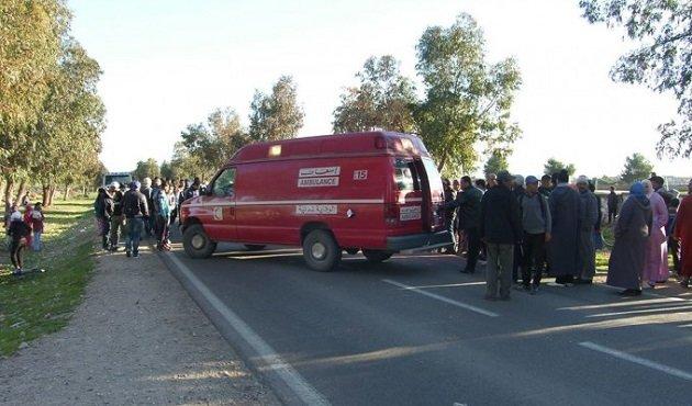 إصابة حوالي عشرين إمرأة بعد إنقلاب شاحنة بالعرائش