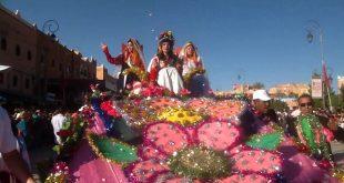 مهرجان الورود بقلعة مكونة