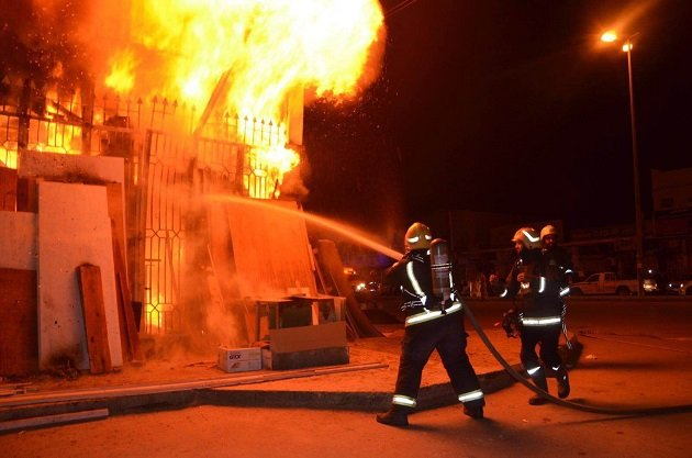 حريق يلتهم قرية للصيادين قرب الداخلة