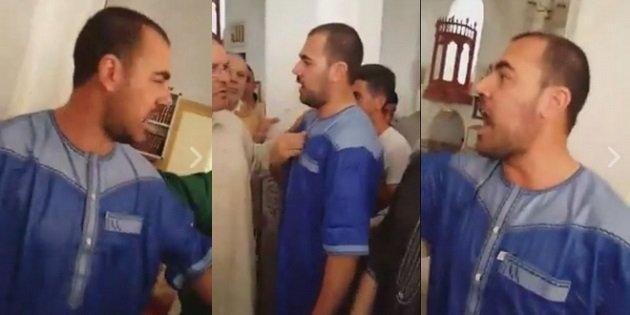 خطير .. الزفزافي يقتحم مسجدا بالحسيمة ويهاجم خطيب الجمعة