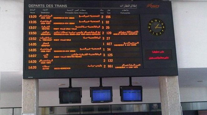 مواعيد جديدة للقطارات ابتداء من فاتح شهر رمضان