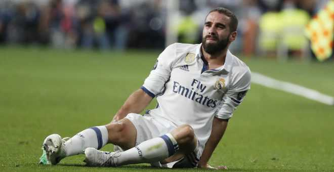 ريال مدريد يؤكد غياب داني كارفخال