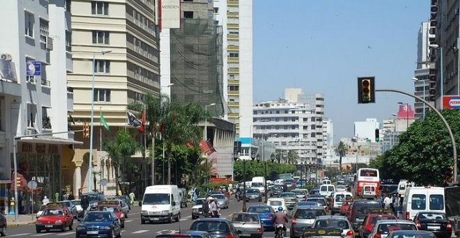 نظام جديد وسط الدار البيضاء يربك حركة السير