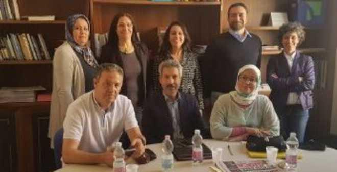 المرصد المغربي لصورة المرأة في الإعلام يقوم بزيارة دراسة وتكوين لأعضائه في إيطاليا