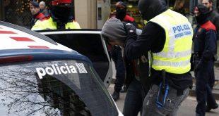 اعتقال مغربي في برشلونة