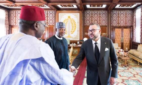 رسالة إلى الملك محمد السادس من رئيس نيجيريا حول تطوير العلاقات الثنائية