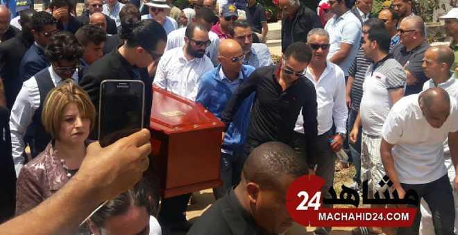 دموع وحزن في جنازة المدرب الأسطورة فيلوني بالبيضاء