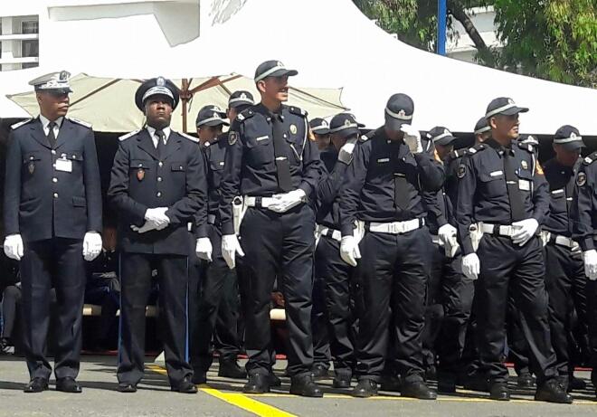 احتفالات شرطة البيضاء بالذكرى 61 لتأسيس الأمن الوطني