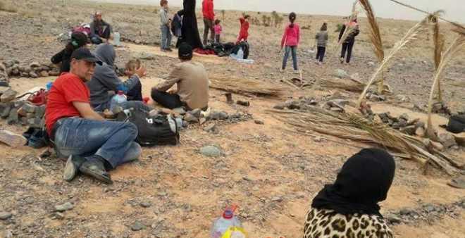 جبهة سورية تناشد الملك محمد السادس لاستقبال اللاجئين العالقين على الحدود
