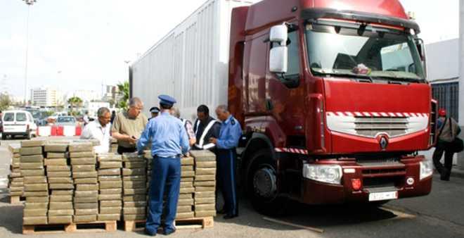 السلطات تجهض تهريب كمية كبيرة من المخدرات بميناء طنجة المتوسط