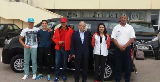 المغرب يشارك في سباق الترياتلون الافريقي