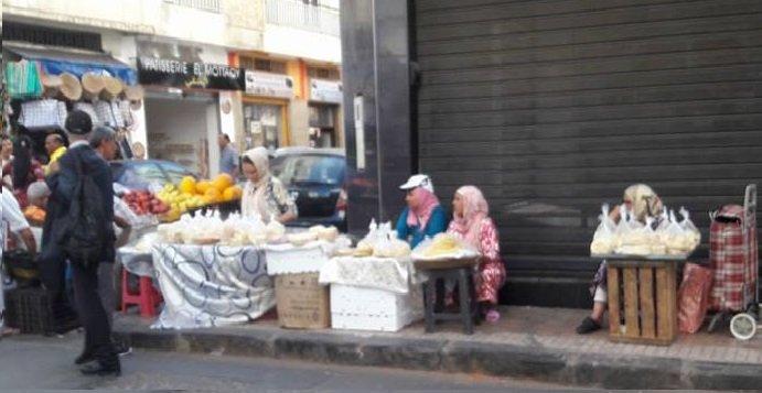 روبورطاج: بائعات الفطائر الرمضانية يتحدين ضنك العيش