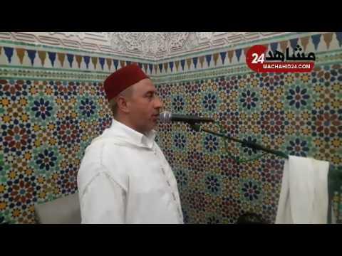 أجواء أذان ليلة ختم القرآن بمسجد الحسن التاني