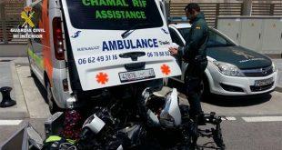 سيارة إسعاف مغربية