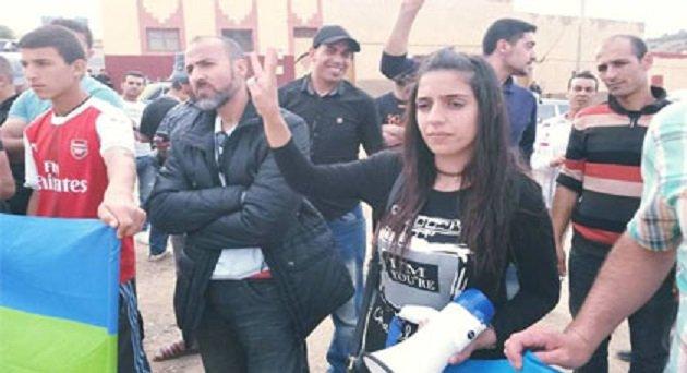 أنباء عن اعتقال سليمة الزياني الوجه النسائي لحراك الريف