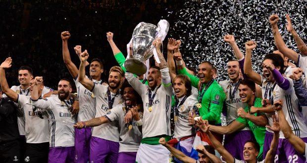 ريال مدريد يتوج بطلا لدوري أبطال أوروبا