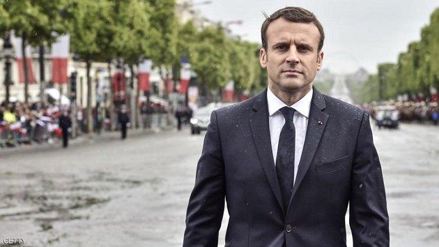 السلطات الفرنسية تعتقل شخصا بتهمة التخطيط لاغتيال ماكرون