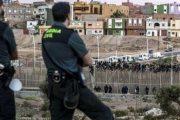 باب مليلية.. سائق متهور يصيب رجلي أمن إسبانيين في محاولة هروب